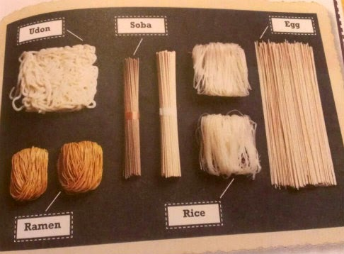 ramen soba & Udon book sample page