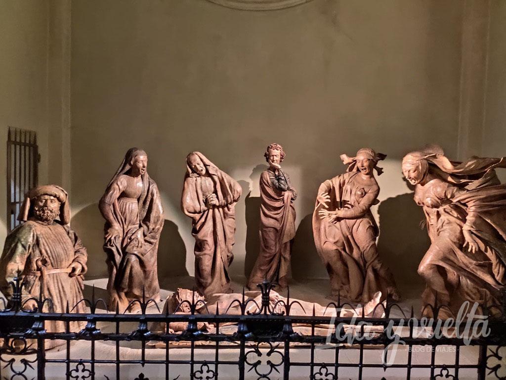 Compianto Santa Maria della Vita Bolonia vista general