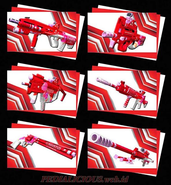 Harga & Statistik Seri Merah Putih Senjata Point Blank