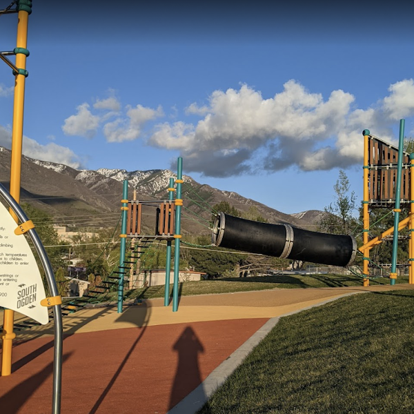 BRAND NEW PLAYGROUNDS AT BURCH CREEK PARK SOUTH OGDEN, UT