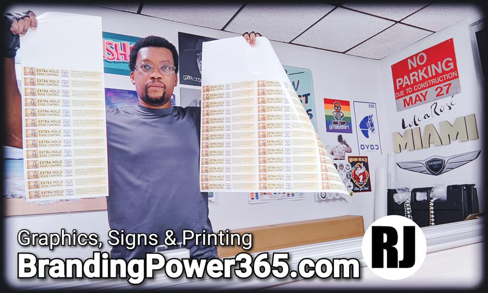 We Print Labels and Stickers for Professional Branding of Your Products (BrandingPower365.com)