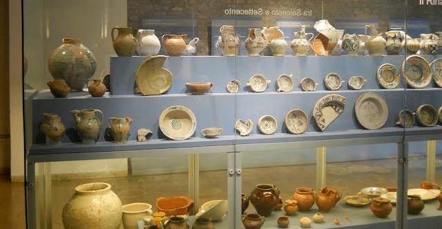 Crypta Balbi no Museu Nacional Romano em Roma