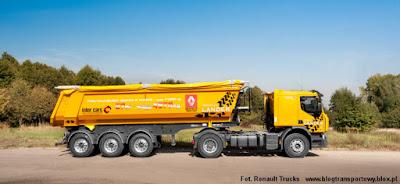 Renault Premium Lander z naczepą Feber