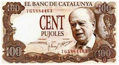 banc de Catalunya, Jordi Pujol, cent pujoles