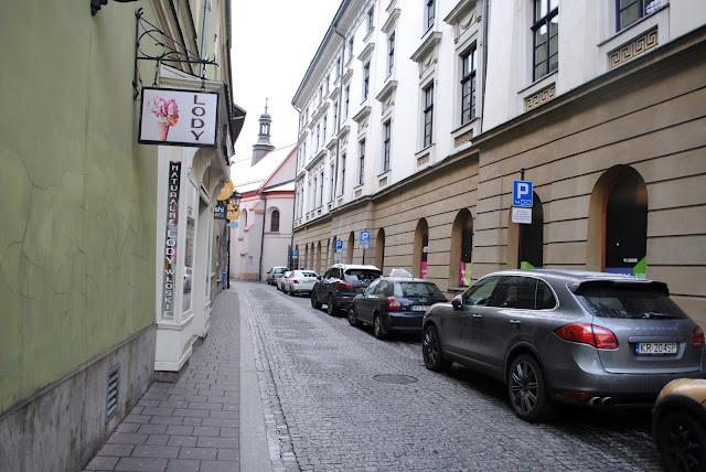 Krakow waska uliczka