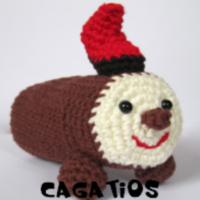 http://patronesamigurumis.blogspot.com.es/2017/12/patrones-cagatio-amigurumi.html