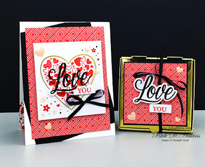 Alternative projects using the 2021 January Sending Hearts Paper Pumpkin Kit.  Click here to learn more details