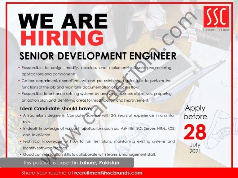 Service Sales Corporation Pvt Ltd Jobs 2021