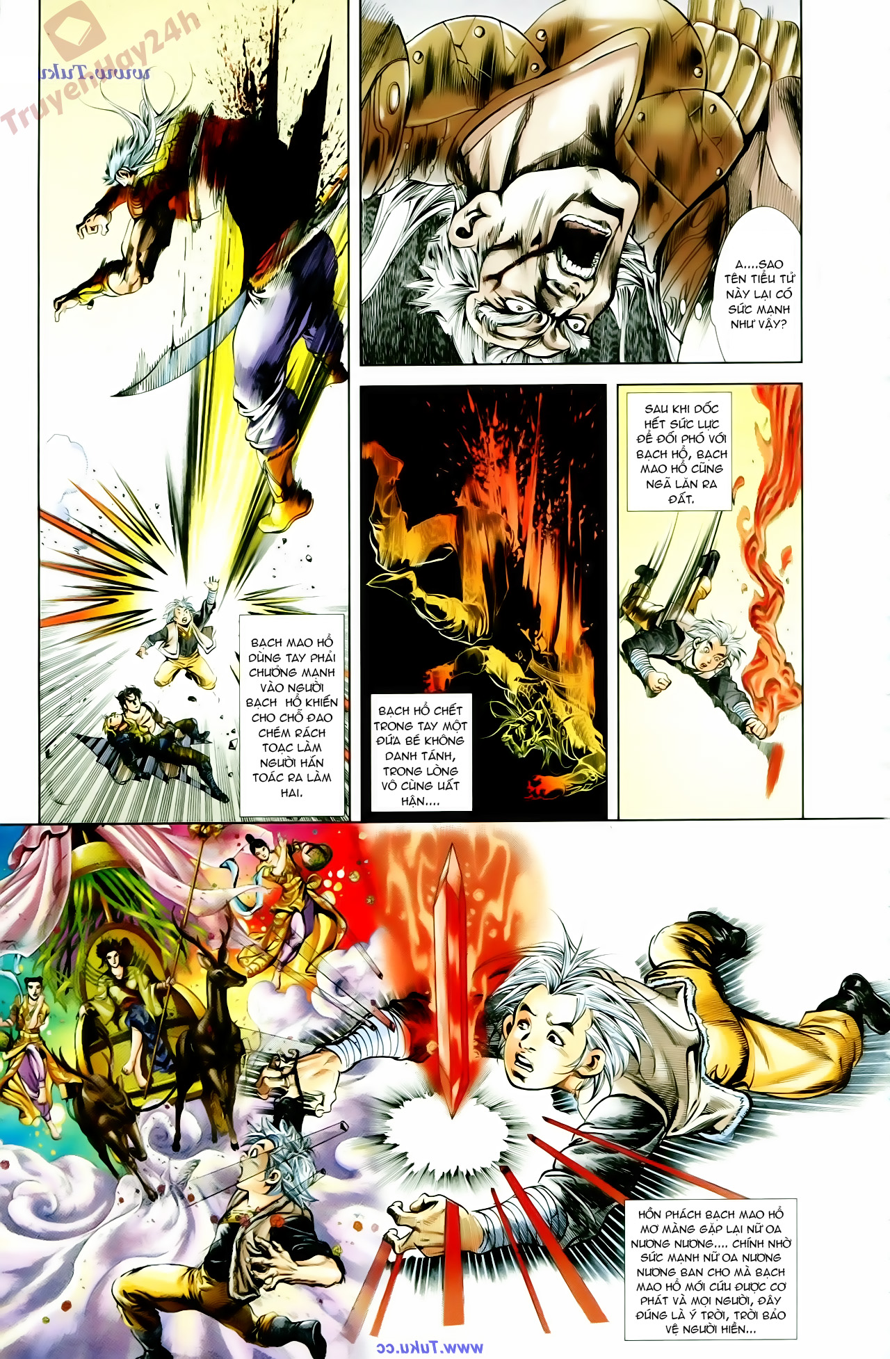 Cơ Phát Khai Chu Bản chapter 66 trang 31