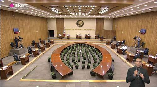 Aprueba INE registro de candidaturas a la Cámara de Diputados