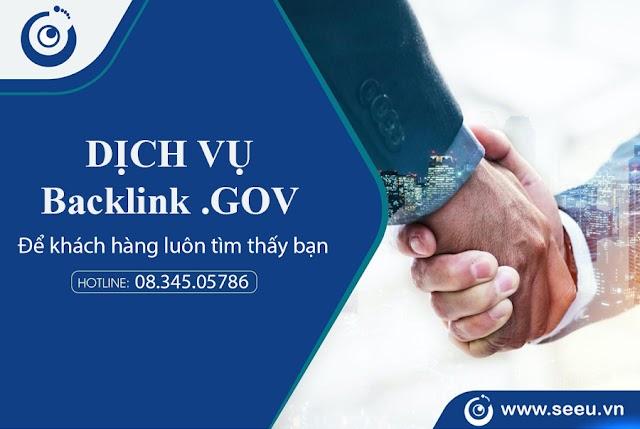 Backlink GOV Là Gì? Giá trị của Backlink GOV khi SEO TOP GOOGLE