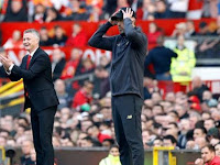 Solskjaer and Jürgen Klopp The initial statistics of the United and Liverpool trains