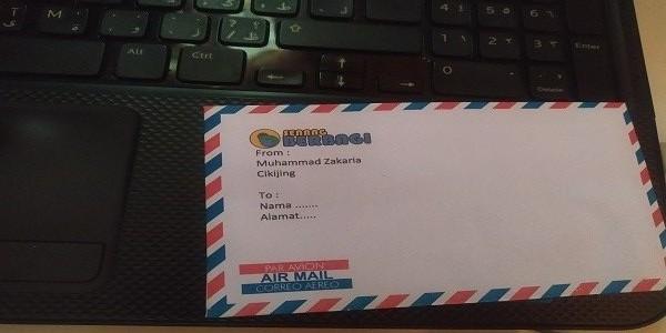 Cara Mudah Print Amplop Air Mail di MS Word 2010 Pada Printer DCP-T310