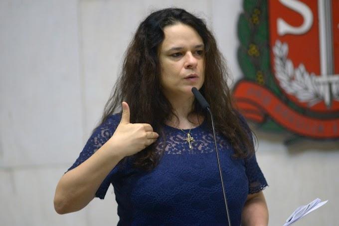 Janaina defende voto impresso ou apuração televisionada