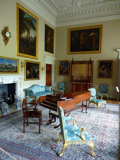 The Music Room At Kedleston Hall