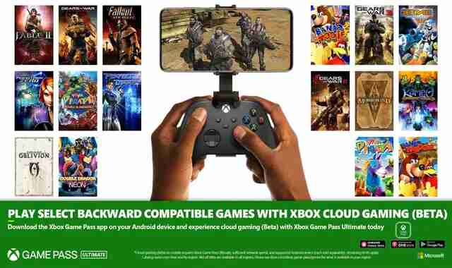 The original Xbox and Xbox 360 games arrive in xCloud