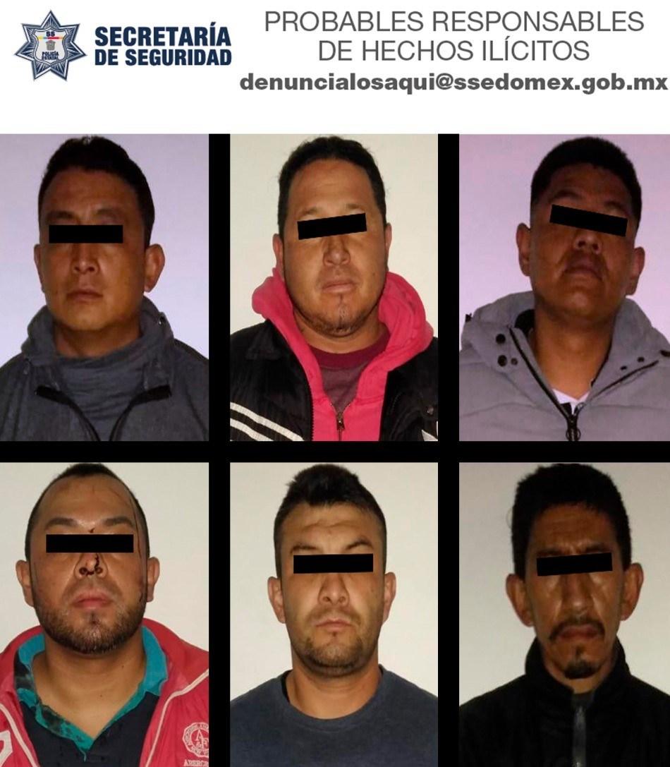 Cae banda que robaba cajeros automáticos; intentaron sobornar con 740 pesos a los Policías para no ser detenidos