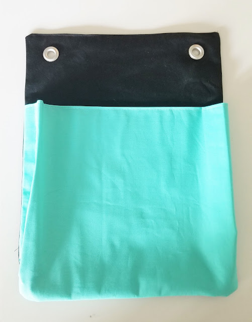 hanging fabric file holder