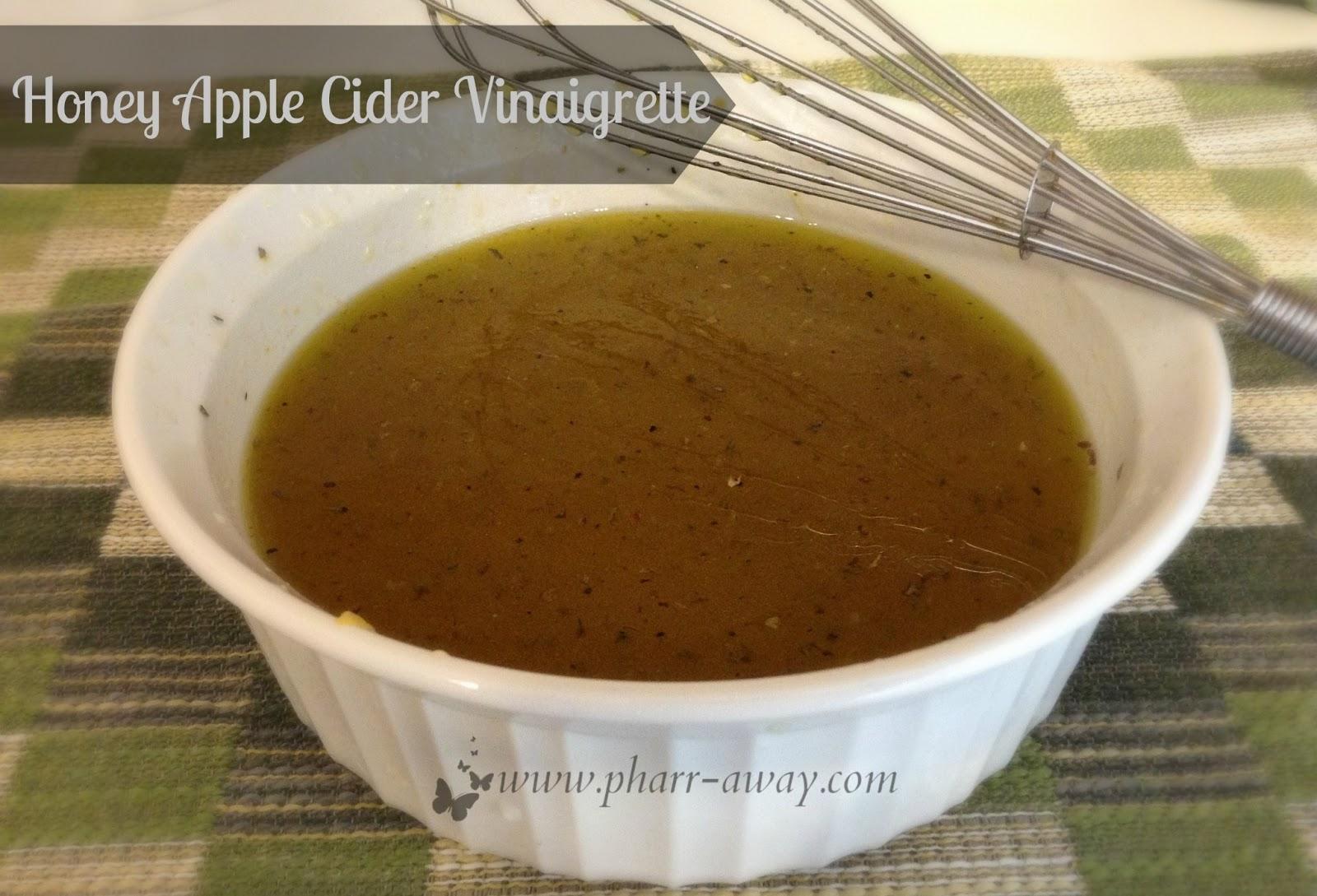 Honey Apple Cider Vinaigrette | Pharr Away