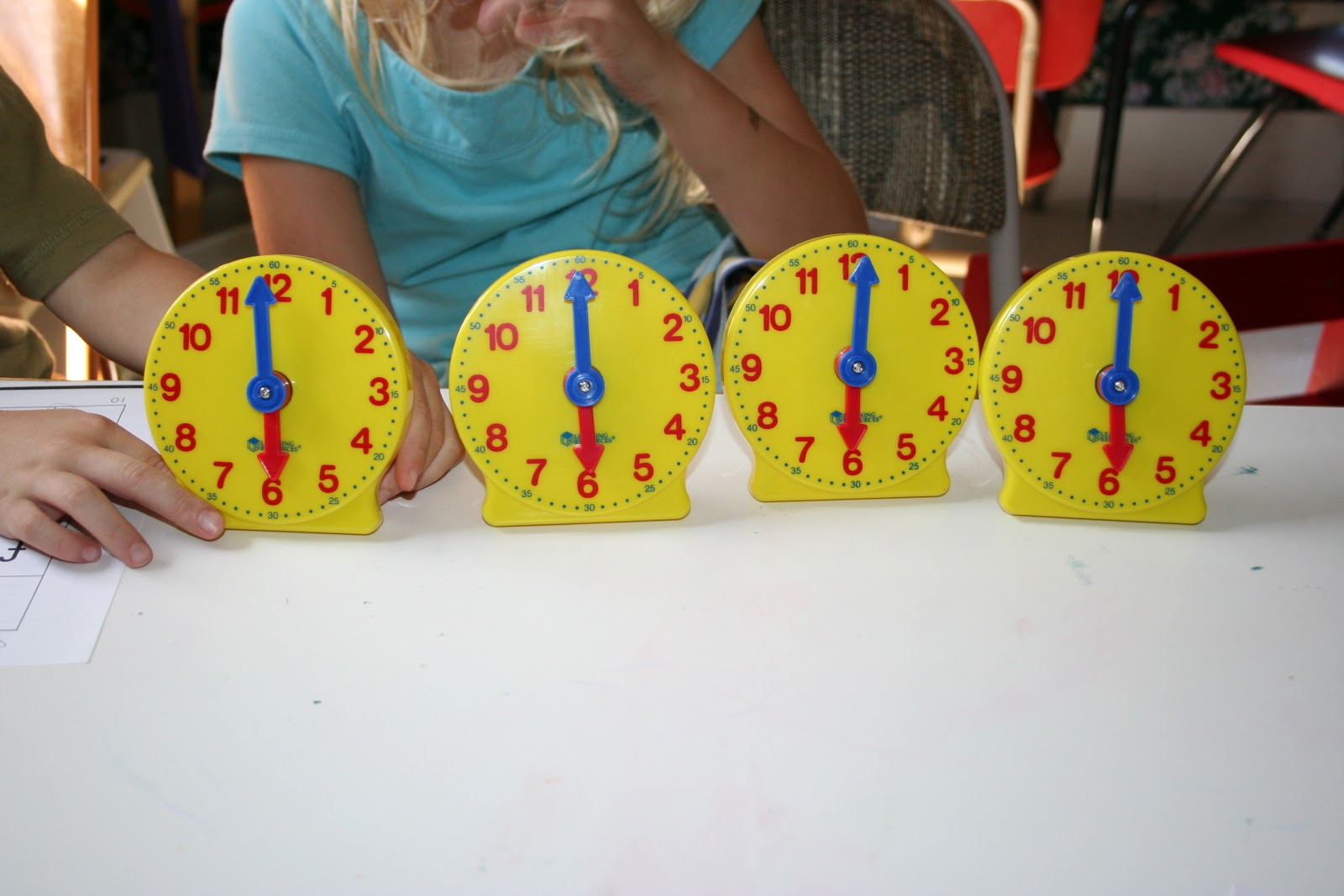 Our Country Road Telling Time 2 Clocks And Hours