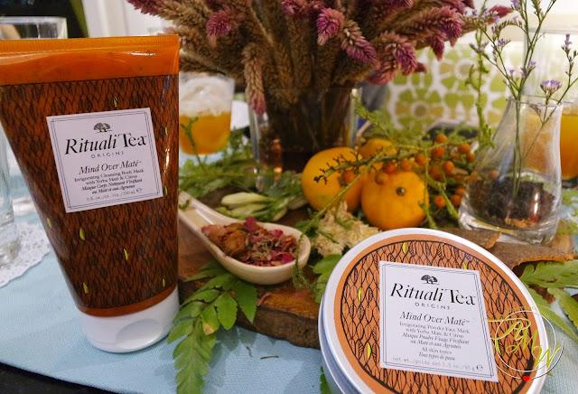 a photo of Origins Rituali Tea Mad Over Mate