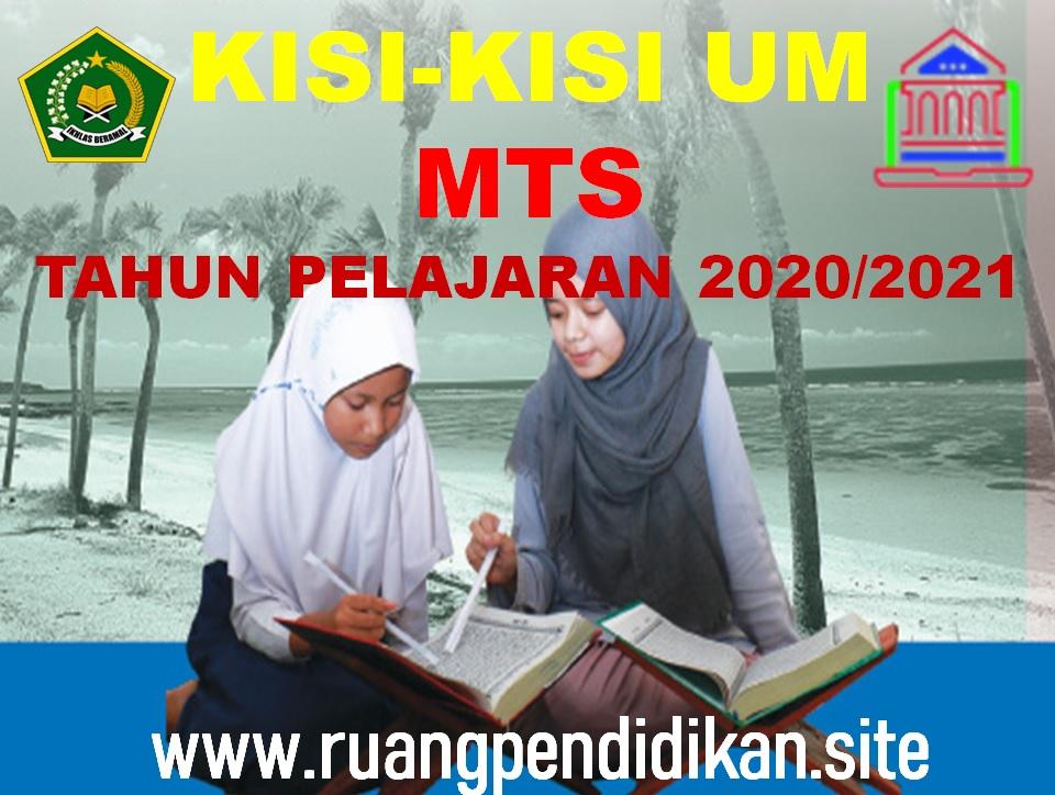 Unduh Kisi-kisi Ujian Madrasah MTs