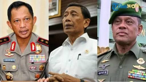 Ditanya Wartawan Apakah Panglima TNI Akan Diganti, Ini Respon Menkopolhukam Wiranto