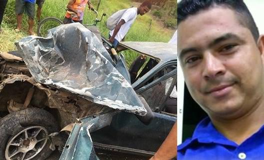 Luto: Morre um dos três ocupantes do Chevette envolvido em acidente na rodovia BA-263