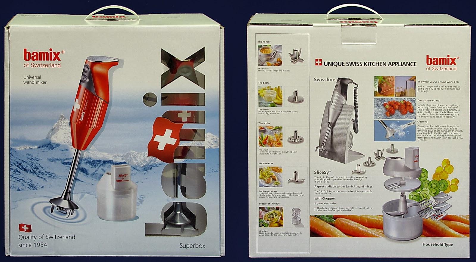 Bamix Super Box Cofanetto, Edizione Limitata 2013, Rosso