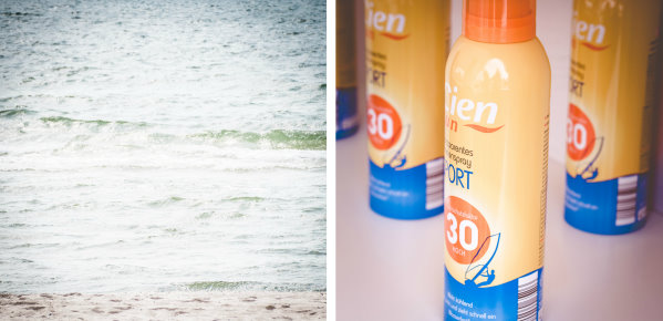 Sonne, Strand und Sportspray als Sonnenschutz