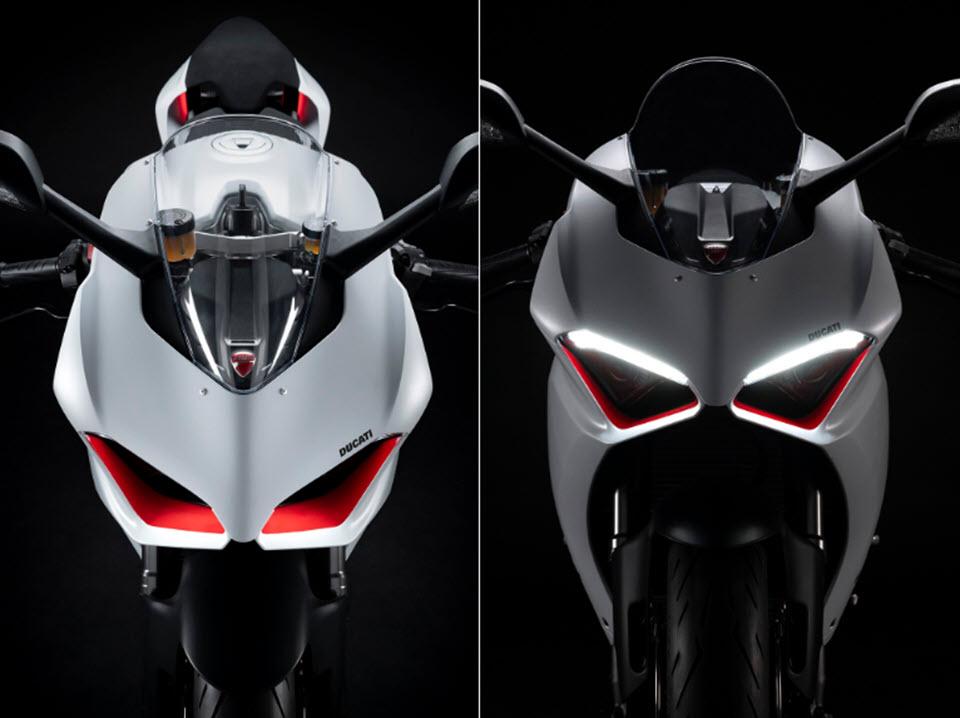 Ducati Panigale V2 màu trắng Rosso sắp cập bến ĐNÁ
