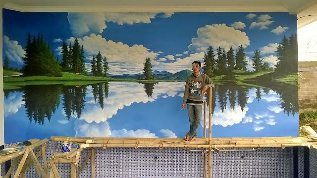 Lukisan Mural Alam