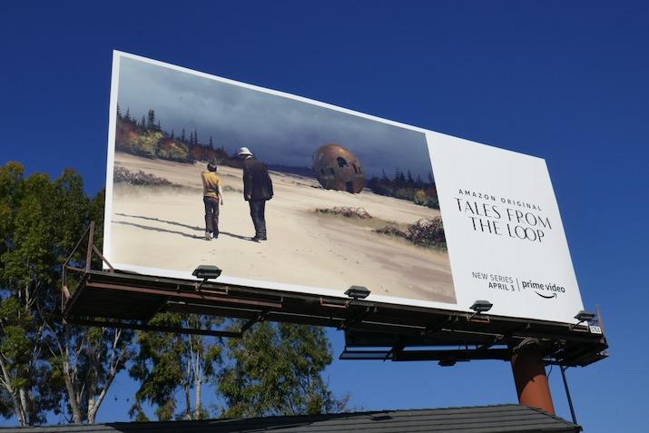 Tales from the Loop series premiere billboard