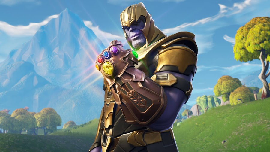 fortnite avengers mashup thanos infinity gauntlet