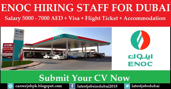 ENOC Careers and job vacancies in Dubai