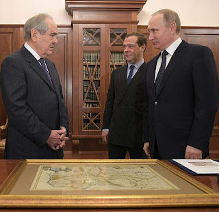 Vladimir Putin. Meeting with Mintimer Shaimiyev.