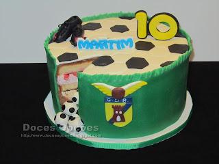 Bolo do 10º aniversário do Martim