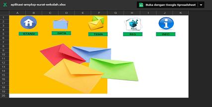Aplikasi Otomatis Pembuatan Kop Surat