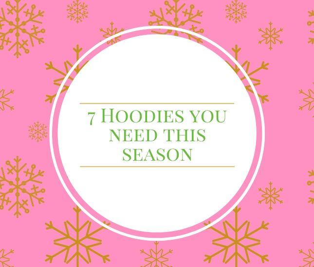 monogram hoodies for fall