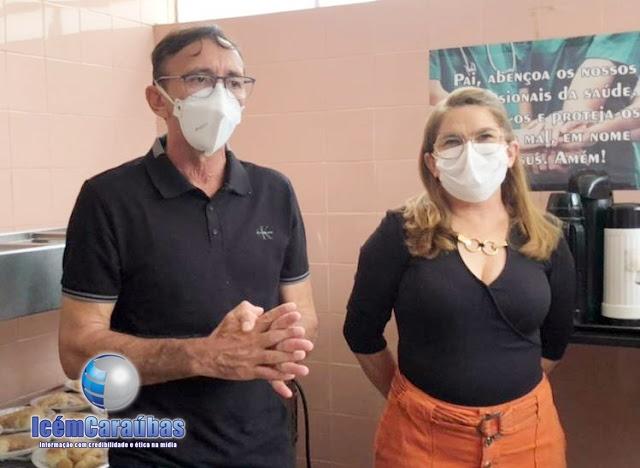 João Bosco Varela é exonerado do cargo de diretor do Hospital Regional de Caraúbas; a nova diretora já foi nomeada