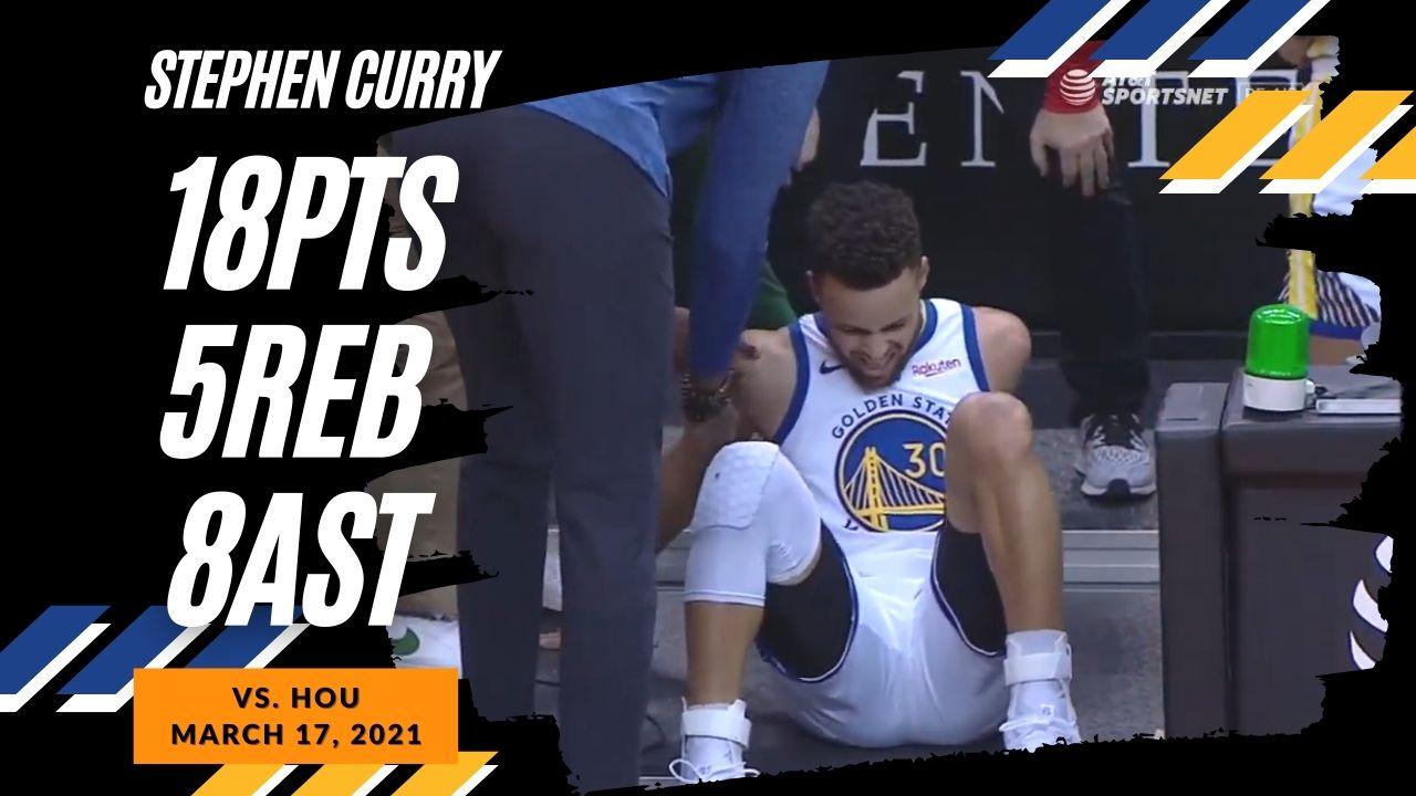 Stephen Curry 18pts 8ast vs HOU | March 17, 2021 | 2020-21 NBA Season