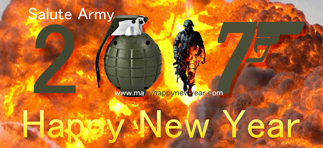 New Year 2017 Wishes for Indian Army