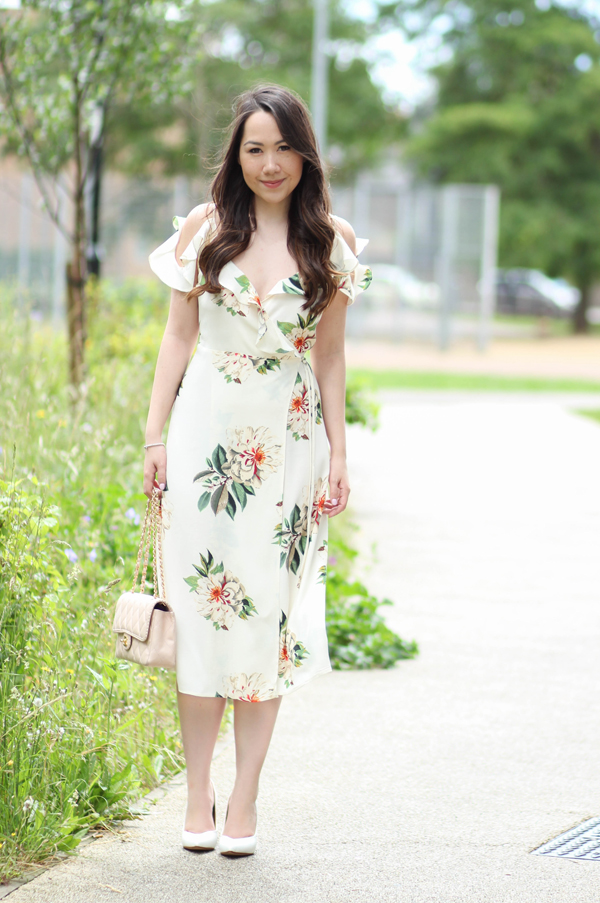 The floral midi dress chase amie the floral midi dress mightylinksfo