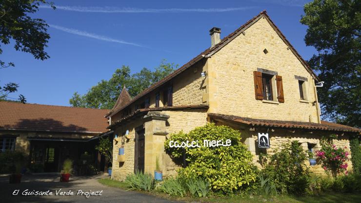 Auberge de Castel Merle - Sergeac, Francia por El Guisante Verde Project