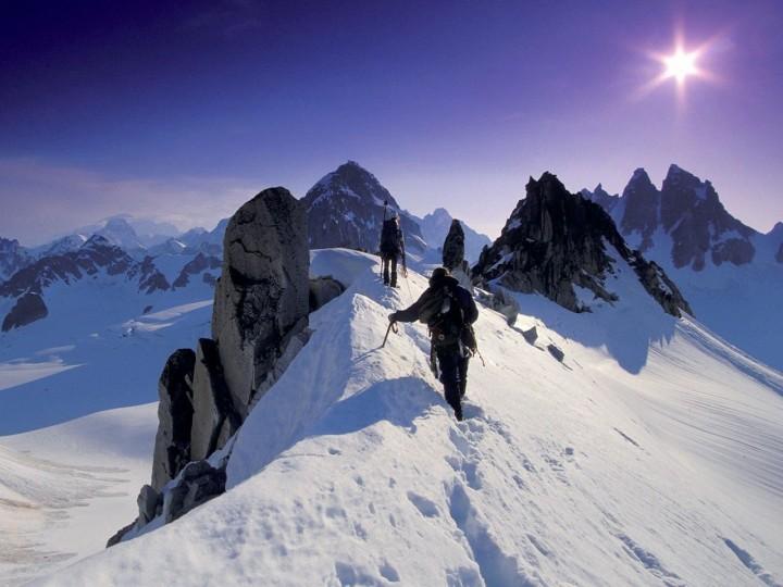 dağ manzaralı yürüyüş resimleri