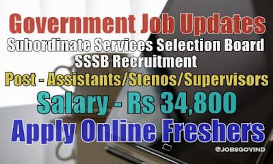 SSSB Recruitment 2021
