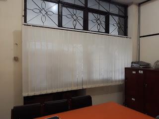 Proyek Vertikal Blind kantor BPKP semarang