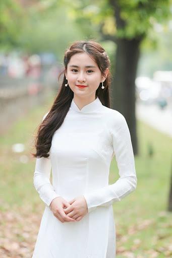 Girl Xinh Mặc Áo Dài Trắng Nữ Sinh Việt Xinh Đẹp