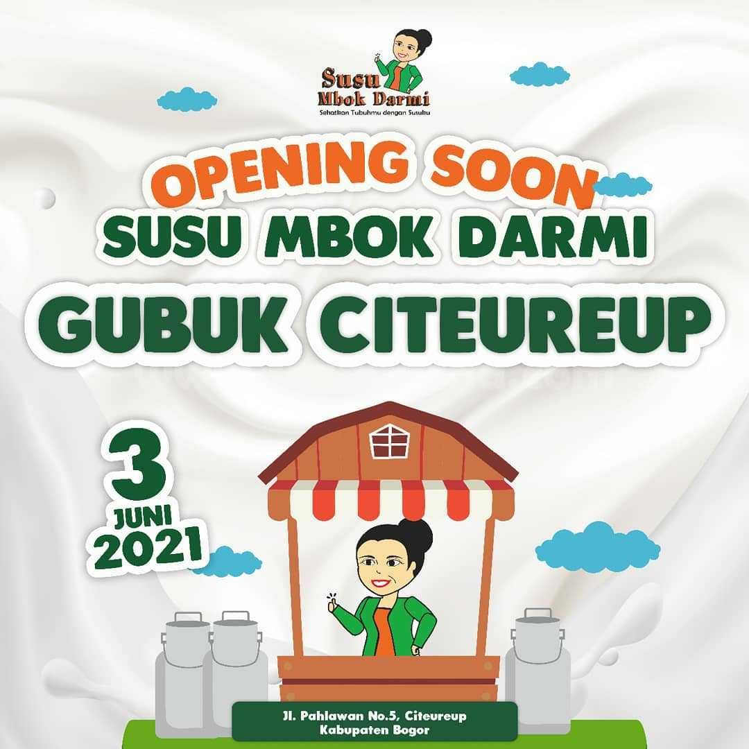Promo Susu Mbok Darmi Citeureup Opening