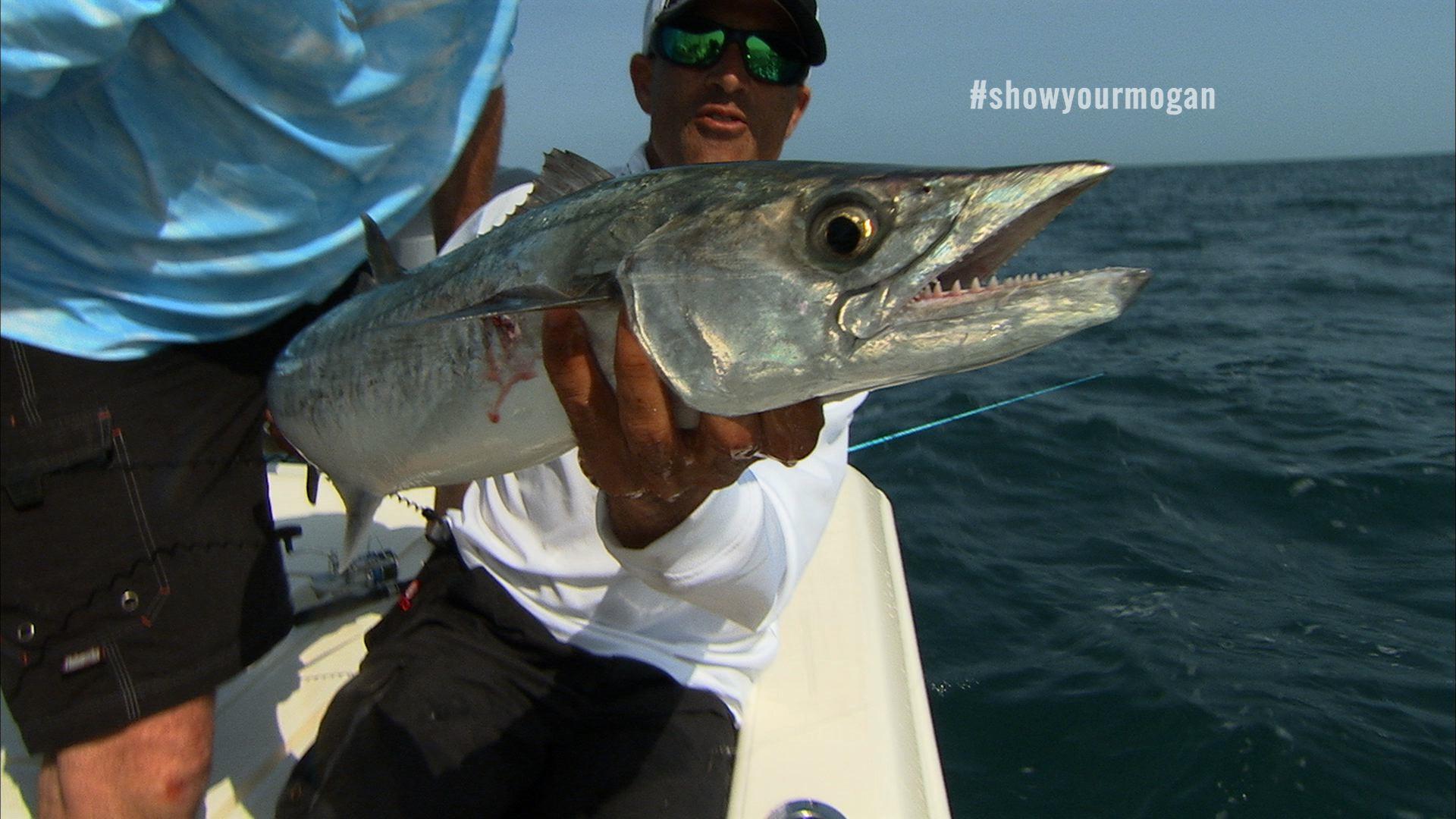 Capt Chris with Kingfish